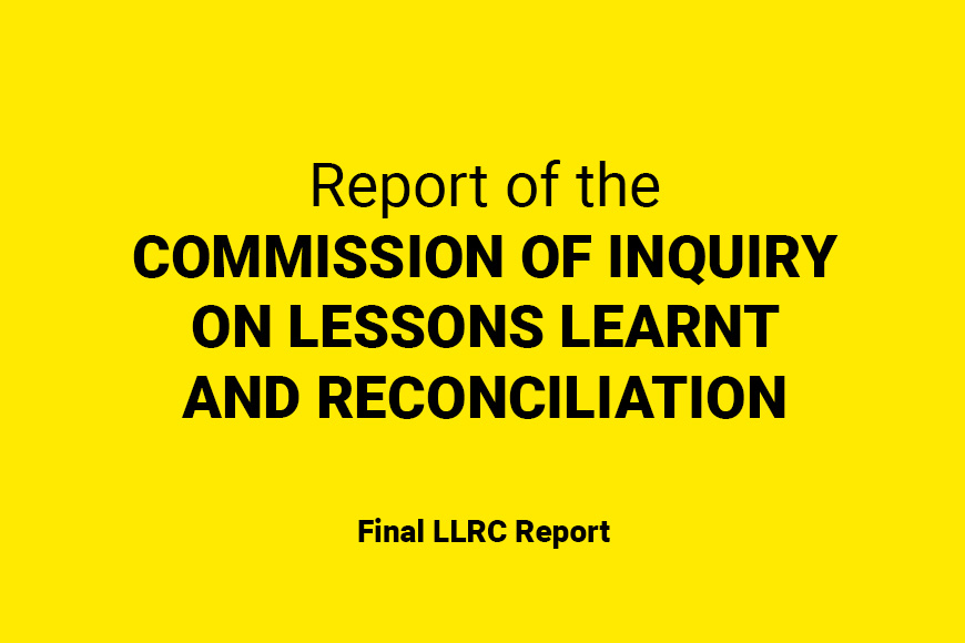 Final LLRC Report
