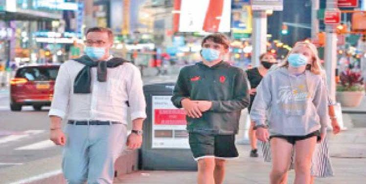 The New York city hit by the Corona virus.