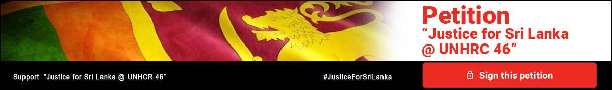 Support Justice for Sri Lanka @ UNHCR 46