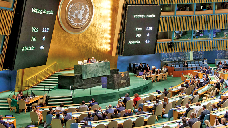 UN General Assembly session