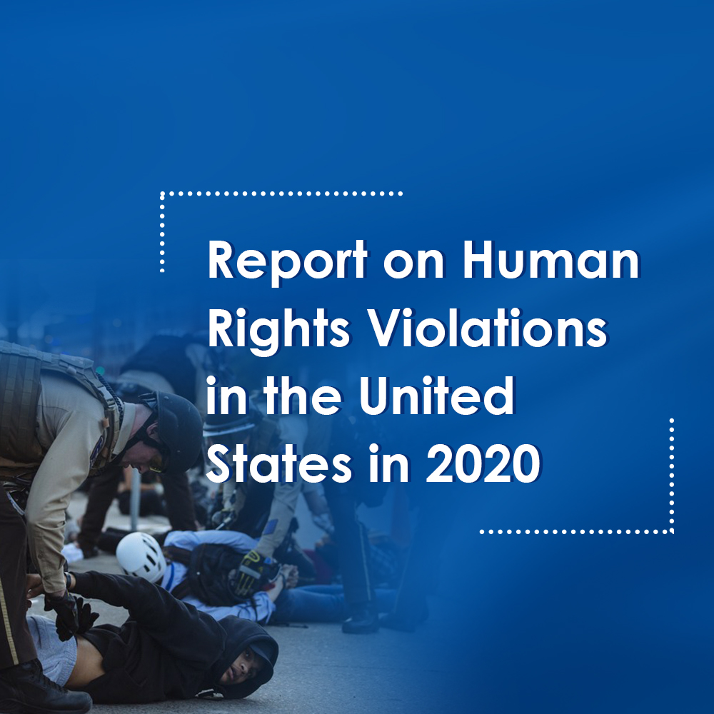 China on Wednesday issued a report on the human rights situation in the United States. The report, titled
